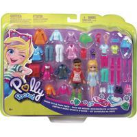 Polly Pocket Kit Diversão Na Neve - Mattel - Kanui
