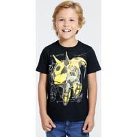 Camiseta Infantil Bumblebee Transformers Hasbro