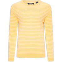 Blusa Masculina Tricot Crew Neck - Amarelo