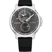 Relógio Tommy Hilfiger Masculino Borracha Preta - 1791626