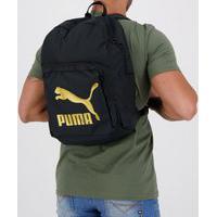 Mochila Puma Originals Urban Backpack Preta