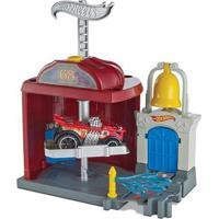 Pista Hot Wheels - City Downtown - Fire Station Spinout - Mattel