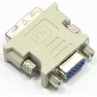 Adaptador Conversor Vga (Fêmea) Para Dvi-I (Macho) Dual Link 24+5 Pinos
