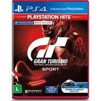 Jogo Ps4 - Gran Turismo Sport - Playstation Hits - Sony