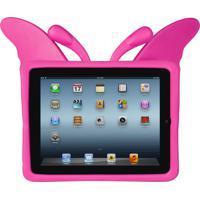 Capa De Ipad Infantil Anti-Impacto Mybag Borboleta Rosa - Ipad Mini 1, 2 E 3