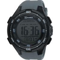 266236a053b ... Relógio Digital X Games Xmppd466 - Masculino - Preto Cinza