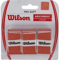 Overgrip Wilson Over Pro Soft - Laranja Escuro