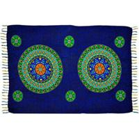 Canga Shopping Bali Mandala Rainbow 5 - Feminino-Azul