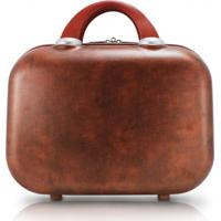Frasqueira Vintage Jacki Design Viagem Marrom