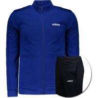 Agasalho Adidas Mts Basics Azul Royal