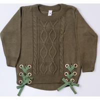 Blusa Mini Lady - Gabriela Menina - Verde