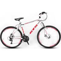 Bicicleta Aro 26 Gts Feel Freio À Disco 21 Marchas - Unissex