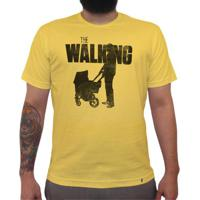 The Walking Dad - Camiseta Clássica Masculina