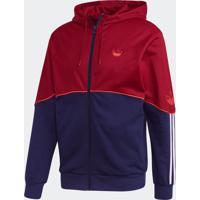Blusão E Jaqueta Adidas Outline Fz Ft Bordô
