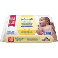 Lenços Umidecidos Johnson'S Baby Recém-Nascido Sem Fragância Johnson E Johnson 96 Unidades