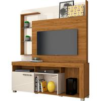 Home Theater Icaro Naturale/Off White Madetec - Tricae