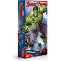 Quebra-Cabeça - Os Vingadores - Hulk - 200 Peças - Toyster - Disney - Masculino-Incolor