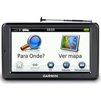 Gps Automotivo Garmin Nuvi 2580Tv 5 Tv Digital E Avisa Radar Preto