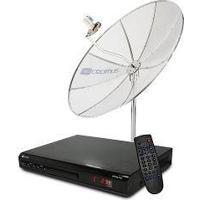 Antena Parabolica Lnbf 1,50 M C/ Receptor Lnbf Mono - Cromus