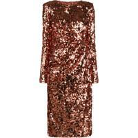 Dolce & Gabbana Blusa Slim Com Aplicação De Paetês - Vermelho