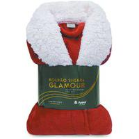 Roupáo Microfibra Flannel Sherpa Glamour Adulto - Toalhas Appel
