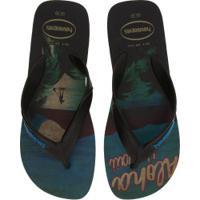 Chinelo Havaianas Surf 17 - Masculino - Aqua