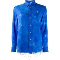 Polo Ralph Lauren Tie Dye Print Shirt - Azul