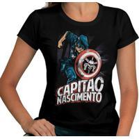 Camiseta Capitão Nascimento
