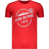 Camiseta Internacional Dry Carimbo - Masculino