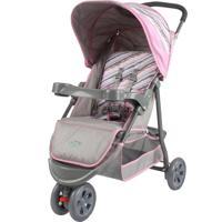 Carrinho De Bebê Junne Triciclo Baby Style Rosa
