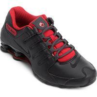 Tênis Nike Shox Nz Se - Masculino-Preto+Vermelho
