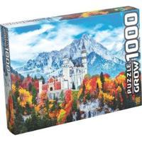 Quebra-Cabeça 1000 Peças Castelo Neuschwantein - Unissex-Colorido