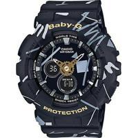Relógio Baby-G Ba-120Sc-1Adr - Unissex-Preto