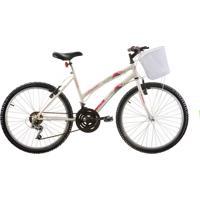 Bicicleta Aro 24 Parati 18 Velocidades Branco Track & Bikes