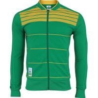 Jaqueta Do Brasil Ci 2018 Adidas - Masculina - Verde/Amarelo