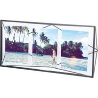 Porta Retrato Prisma Multi Fotos Preto