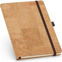 Caderneta Capa Cortiça 13,7X21,5Cm 80 Folhas Sem Pauta