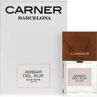 Ambar Del Sur De Carner Barcelona Eau De Parfum Feminino 100 Ml