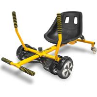 Go Kart Drift Two Dogs - Carrinho Para Hoverboard - Aço - 1849 - Amarelo