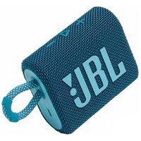 Caixa De Som Portátil Bluetooth Jbl Com Potência De 4,2 W Azul - Jbl Go 3