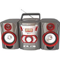 Micro System Lenoxx Mc271 Com Rádio Fm Estéreo, Cd Player, Mp3, Entrada Auxiliar