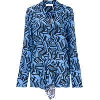 Chloé Blusa De Seda - Azul
