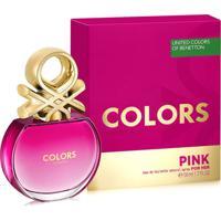 Perfume Feminino Colors Pink Benetton Eau De Toilette 50Ml - Feminino