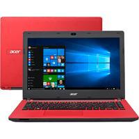 "Notebook Acer Es1-431-C494 - 500Gb Hd - 4Gb Ram - Tela Led 14""- Vermelho - Windows 10"