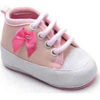 Tênis Top Franca Shoes Infantil - Feminino-Rosa