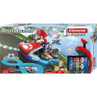 Pista De Percurso E Veículos - Super Mario - Mario Kart - California Toys