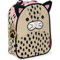 Lancheira Infantil Skip Hop - Linha Zoo - Coleção Leopardo - Feminino