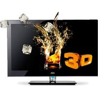"Tv Smart Led 3D 46"" Aoc Le46H158Z - Full Hd - Hdmi - Usb - Conversor Digital - Anti-Reflexiva"