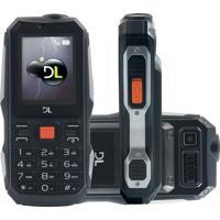 Celular Dl Powerphone Dual Desbloqueado Preto
