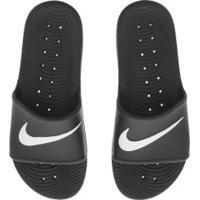 Chinelo Nike Kawa Shower - Slide - Masculino - Preto/Branco
